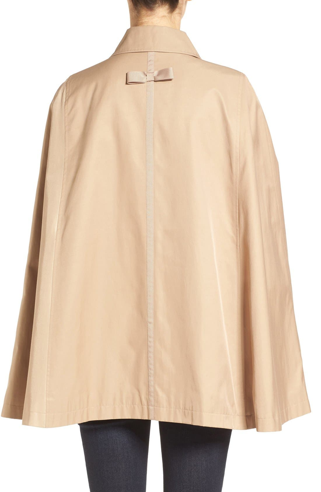 Alternate Image 2  - CeCe Lily Trench Cape