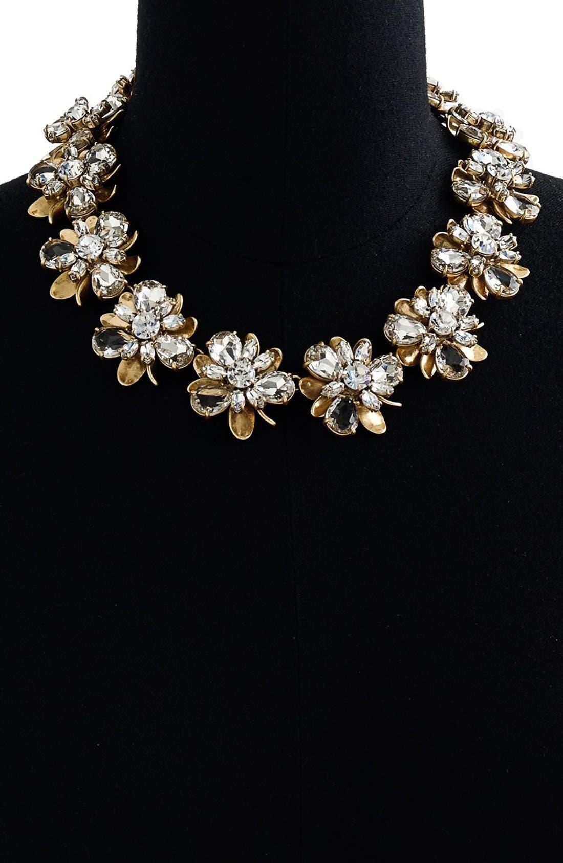 Alternate Image 2  - J.Crew 'Crystal Blossom' Necklace
