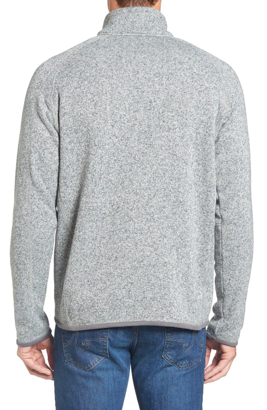 Alternate Image 2  - Patagonia 'Better Sweater' Quarter Zip Pullover