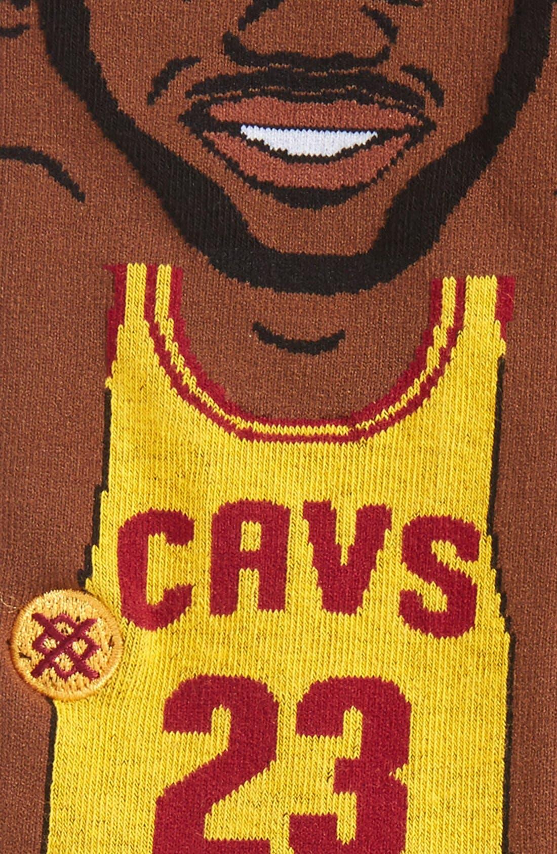 Alternate Image 2  - Stance 'NBA Legends - LeBron James' Crew Socks