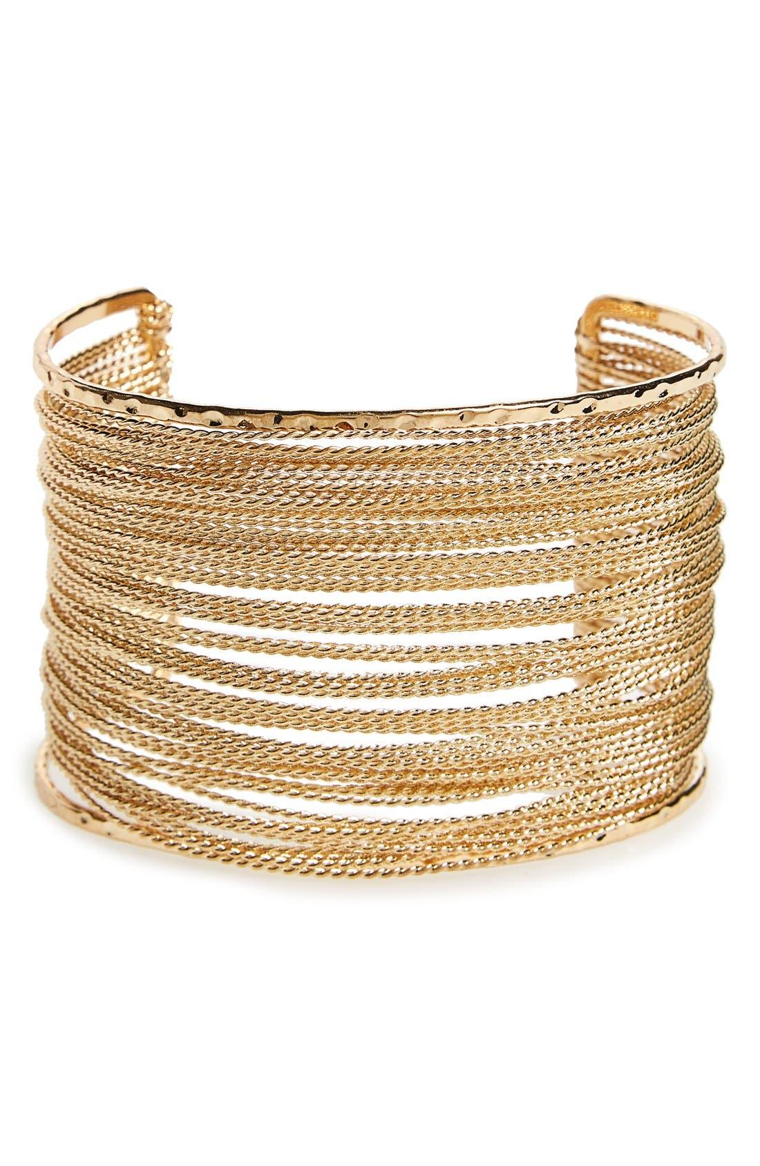 Alternate Image 1 Selected - Panacea Chain Cuff