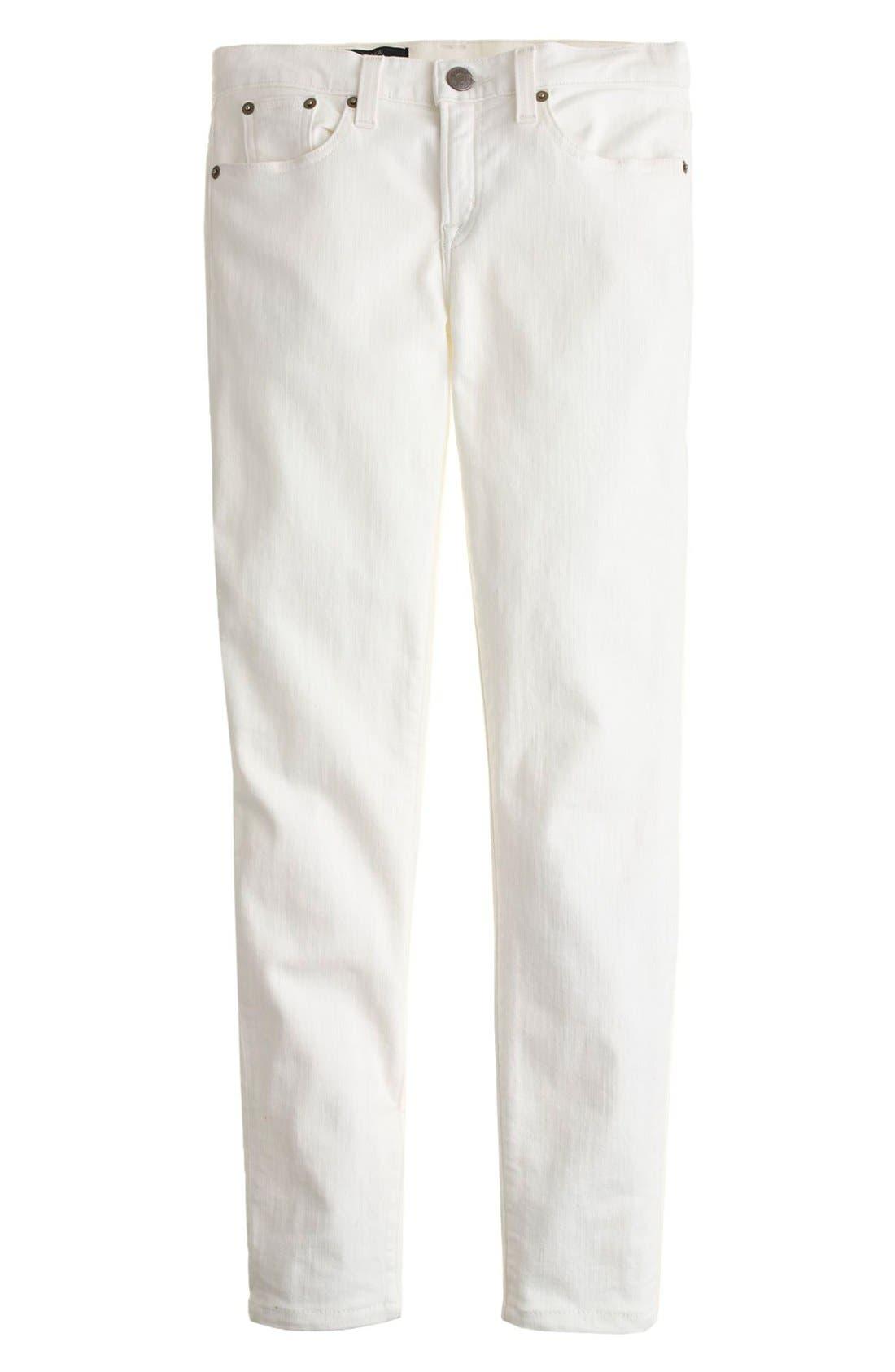 Alternate Image 2  - J.Crew Toothpick Jeans (Regular & Petite)