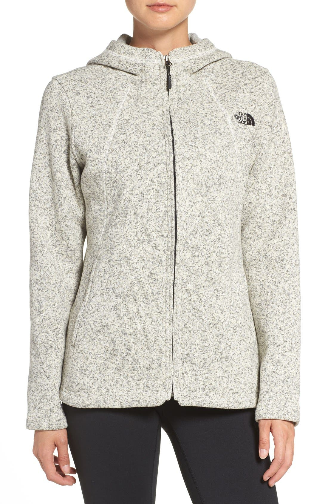 Alternate Image 1 Selected - The North Face 'Crescent' Fleece Jacket