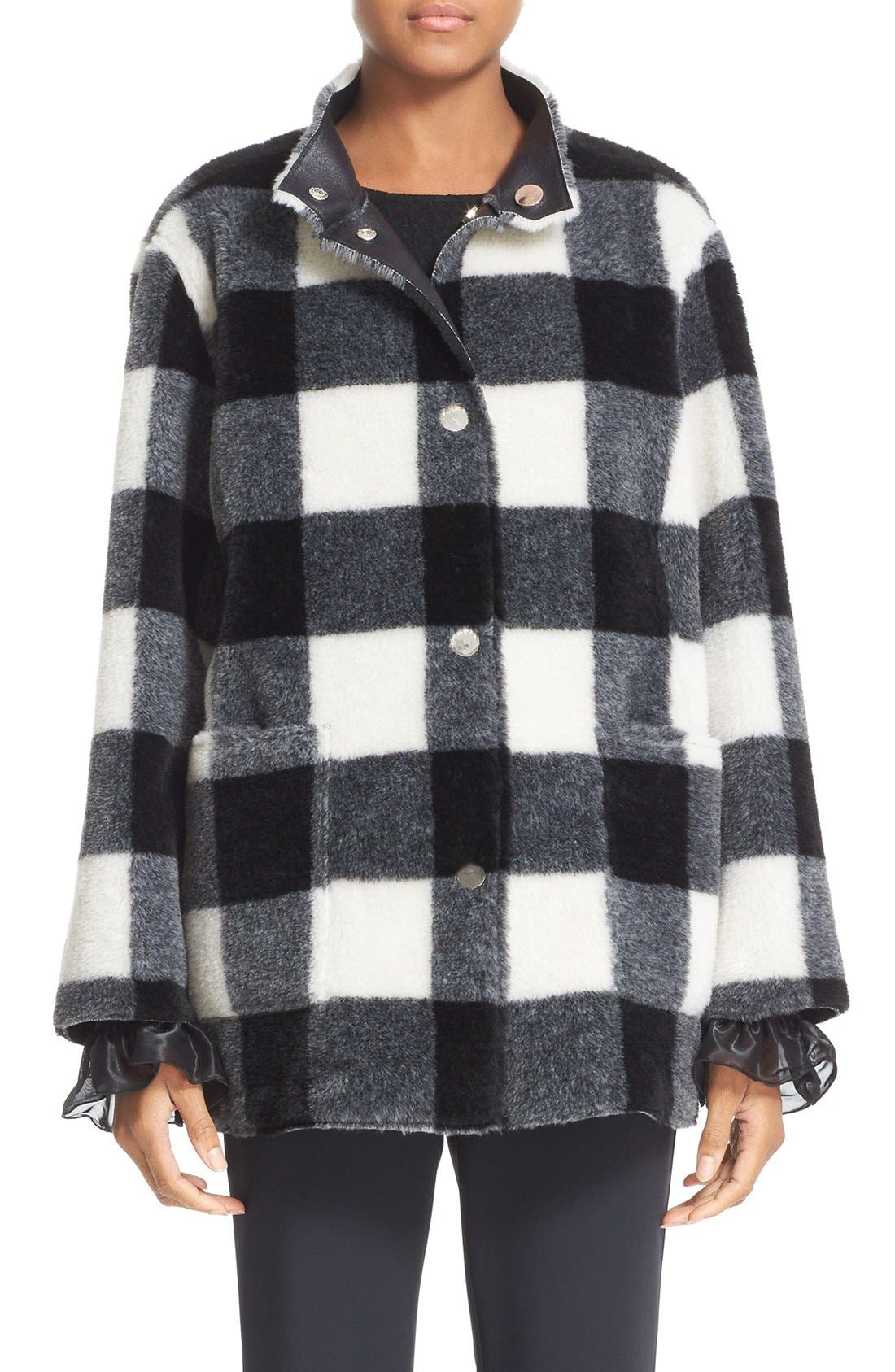 Main Image - Opening Ceremony 'Culver' Reversible Faux Fur Coat