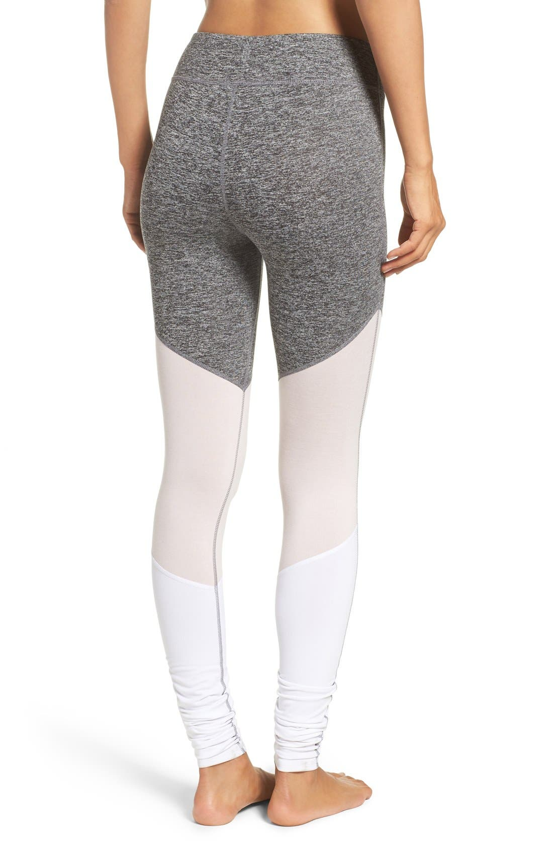 Alternate Image 2  - Free People 'Intuition' High Waist Colorblock Leggings