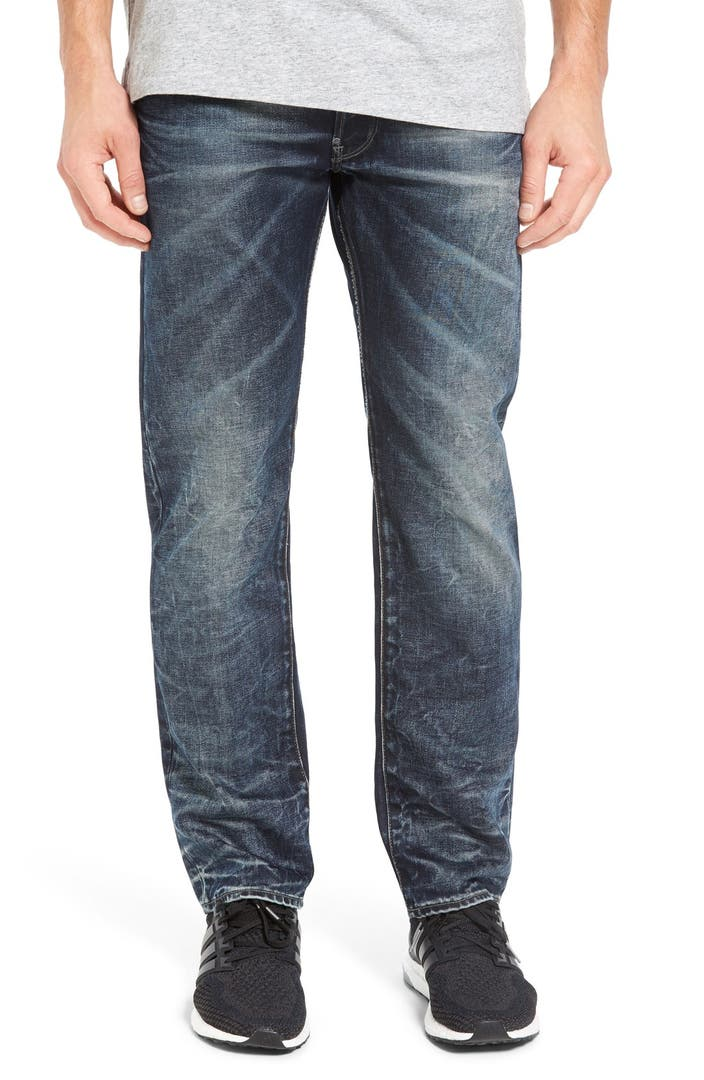 g star raw 39 attacc 39 straight leg jeans nordstrom. Black Bedroom Furniture Sets. Home Design Ideas