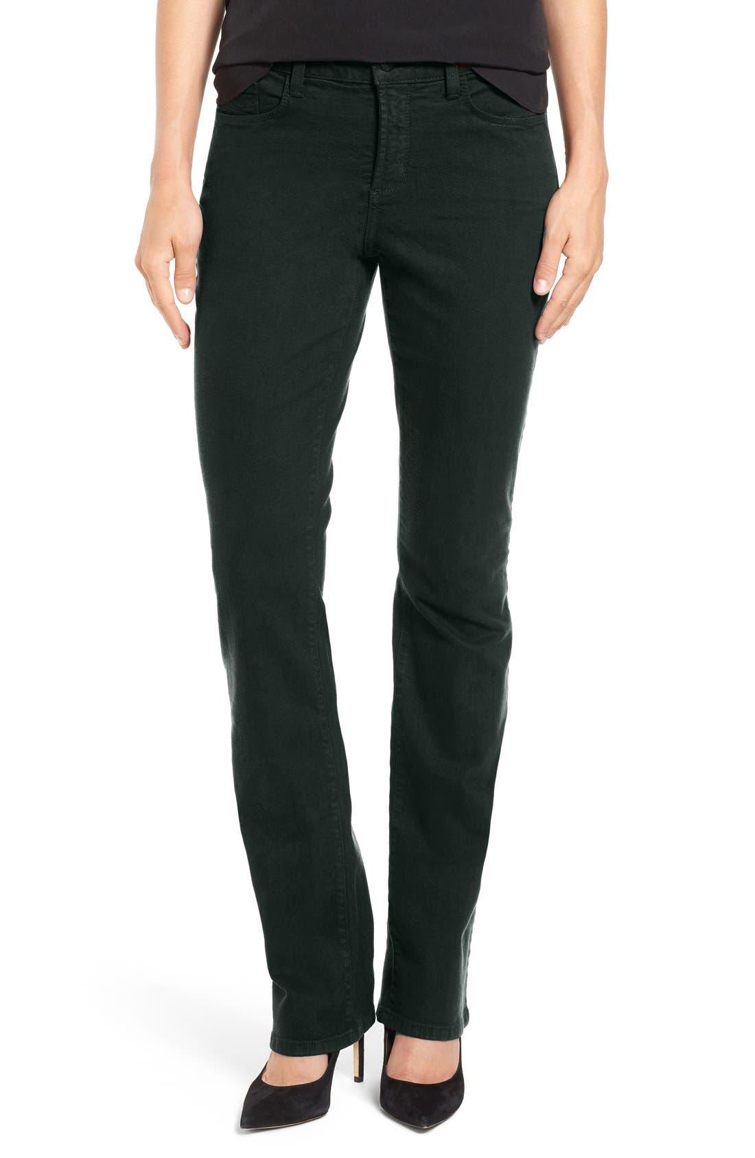 Alternate Image 1 Selected - NYDJ Sheri Stretch Skinny Jeans (Regular & Petite)