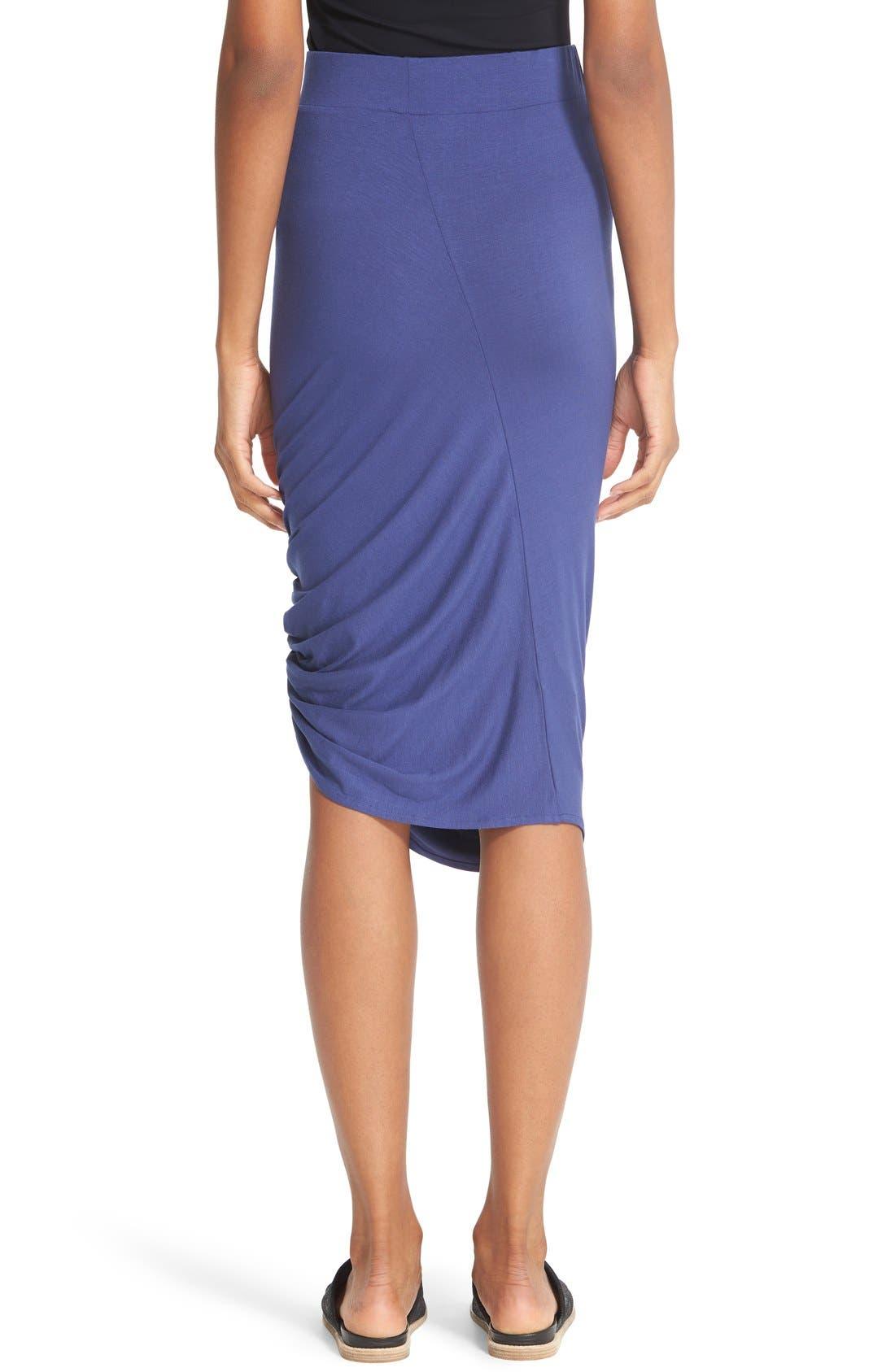 Alternate Image 2  - Zero + Maria Cornejo 'Kia' Ruched Sim Jersey Skirt