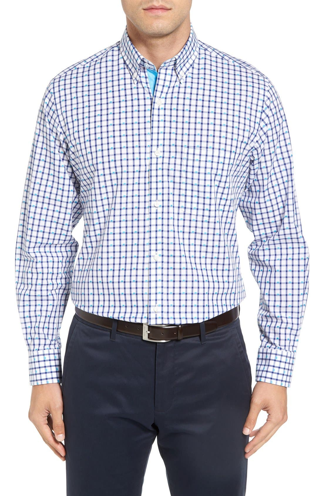TAILORBYRD Mooney Falls Classic Fit Sport Shirt