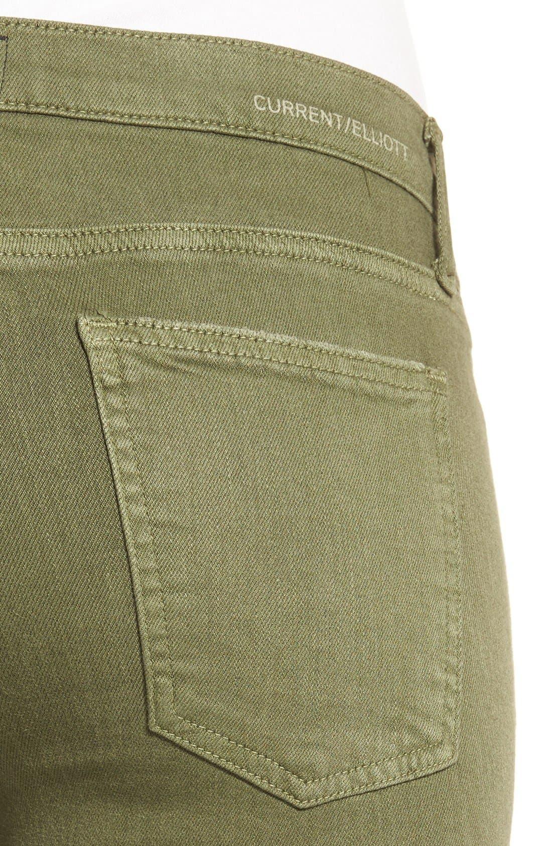 Alternate Image 4  - Current/Elliott 'The Stiletto' Crop Skinny Jeans