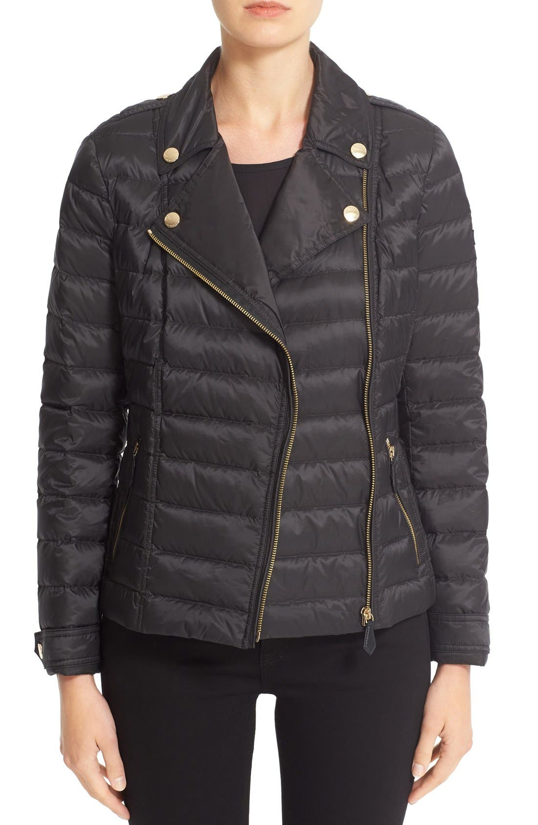 Main Image - Burberry 'Deanstead' Down Puffer Coat