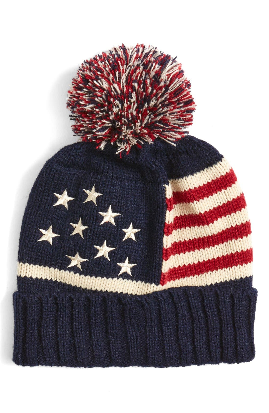 Alternate Image 2  - BP. American Flag Beanie