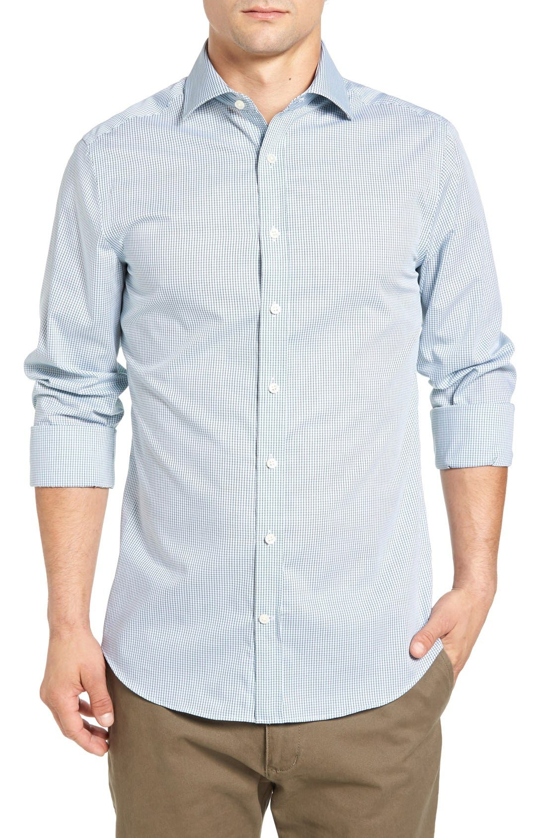 Gant Extra Trim Fit Mini Check Sport Shirt