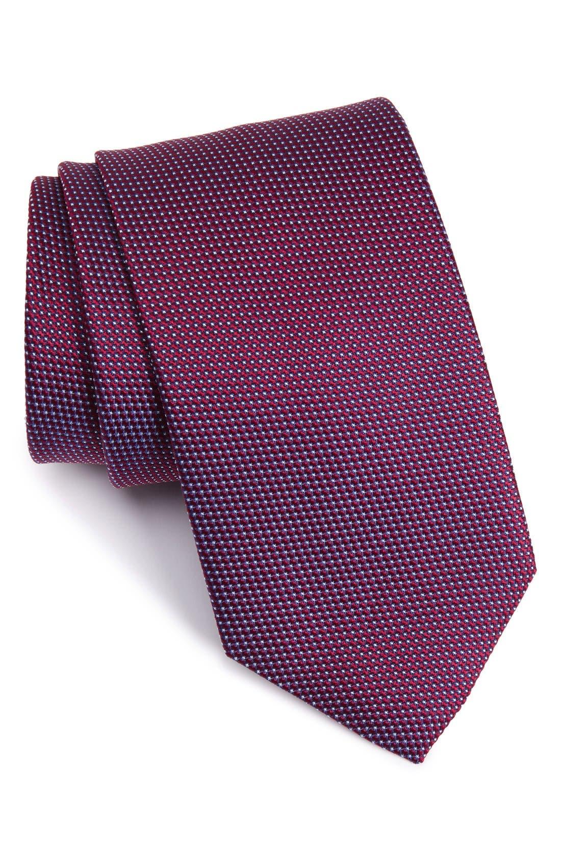 Eton Microdot Silk Tie
