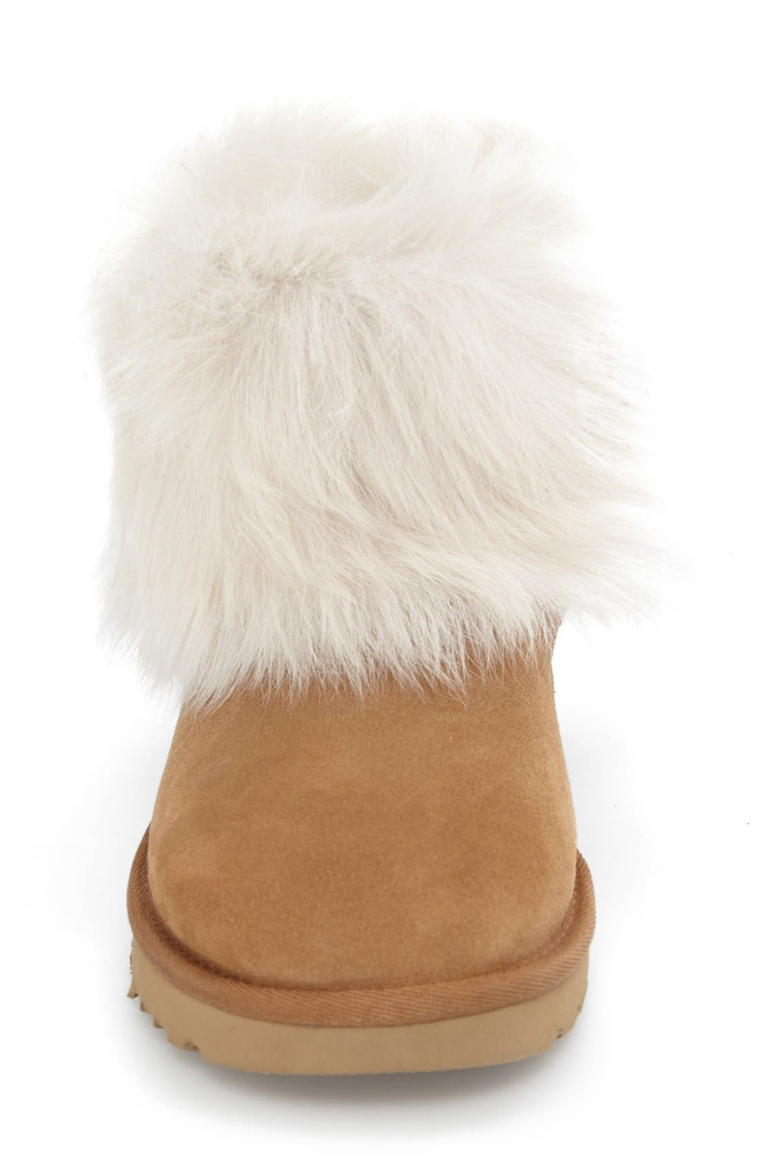 Alternate Image 3  - UGG® 'Valentina' Genuine Shearling Cuff Boot (Women)