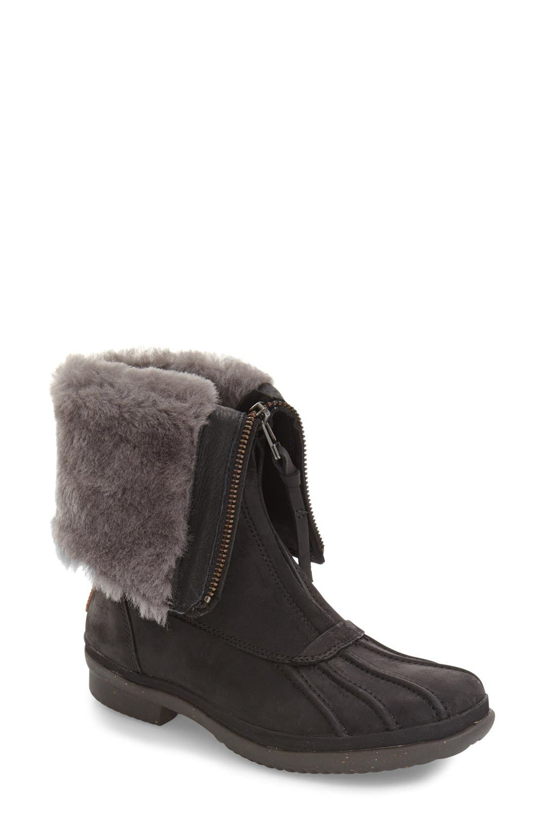 Alternate Image 1 Selected - UGG® Arquette Genuine Shearling Cuff Waterproof Boot (Women)