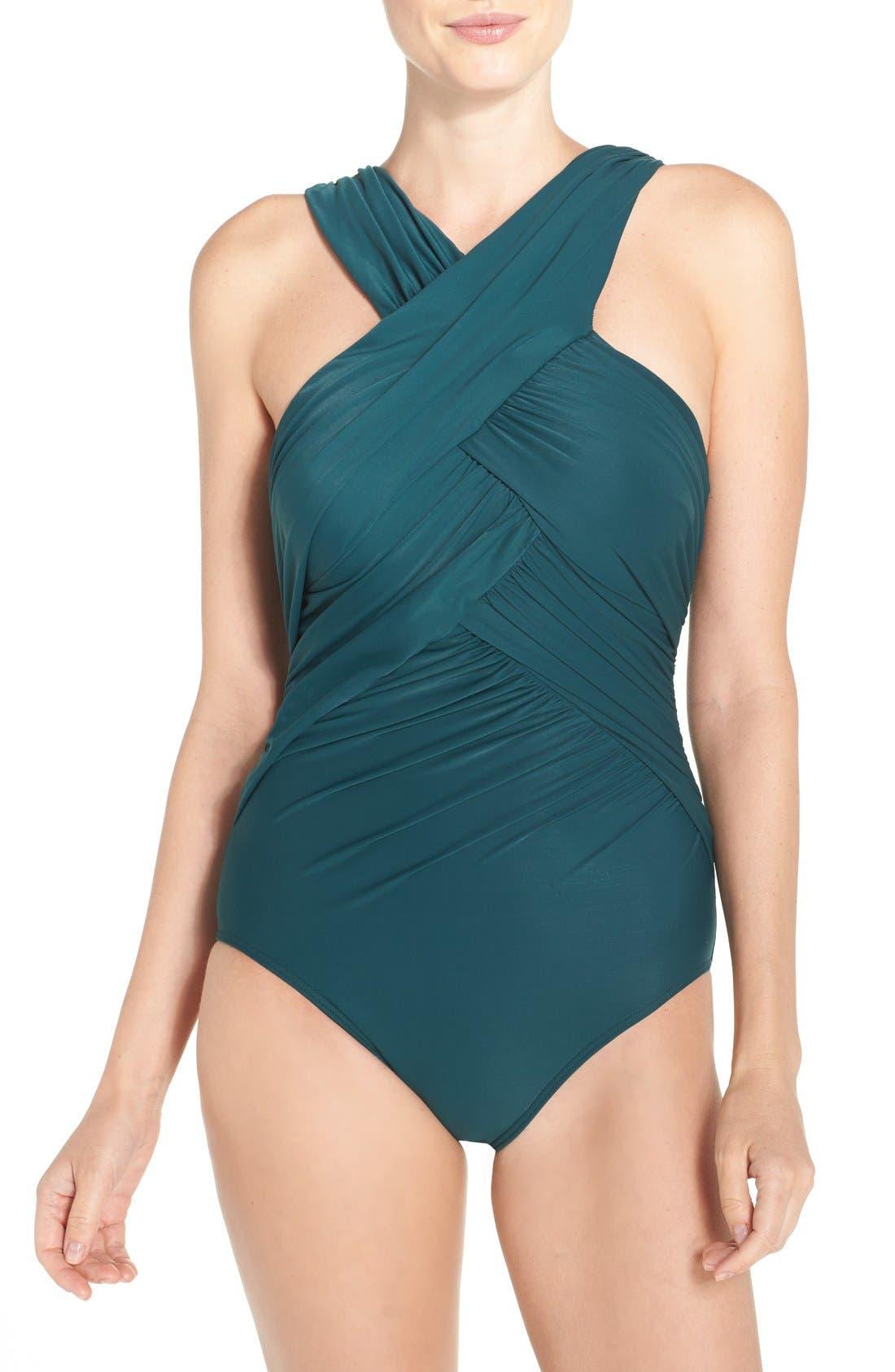 Miraclesuit® Crisscross One-Piece Swimsuit