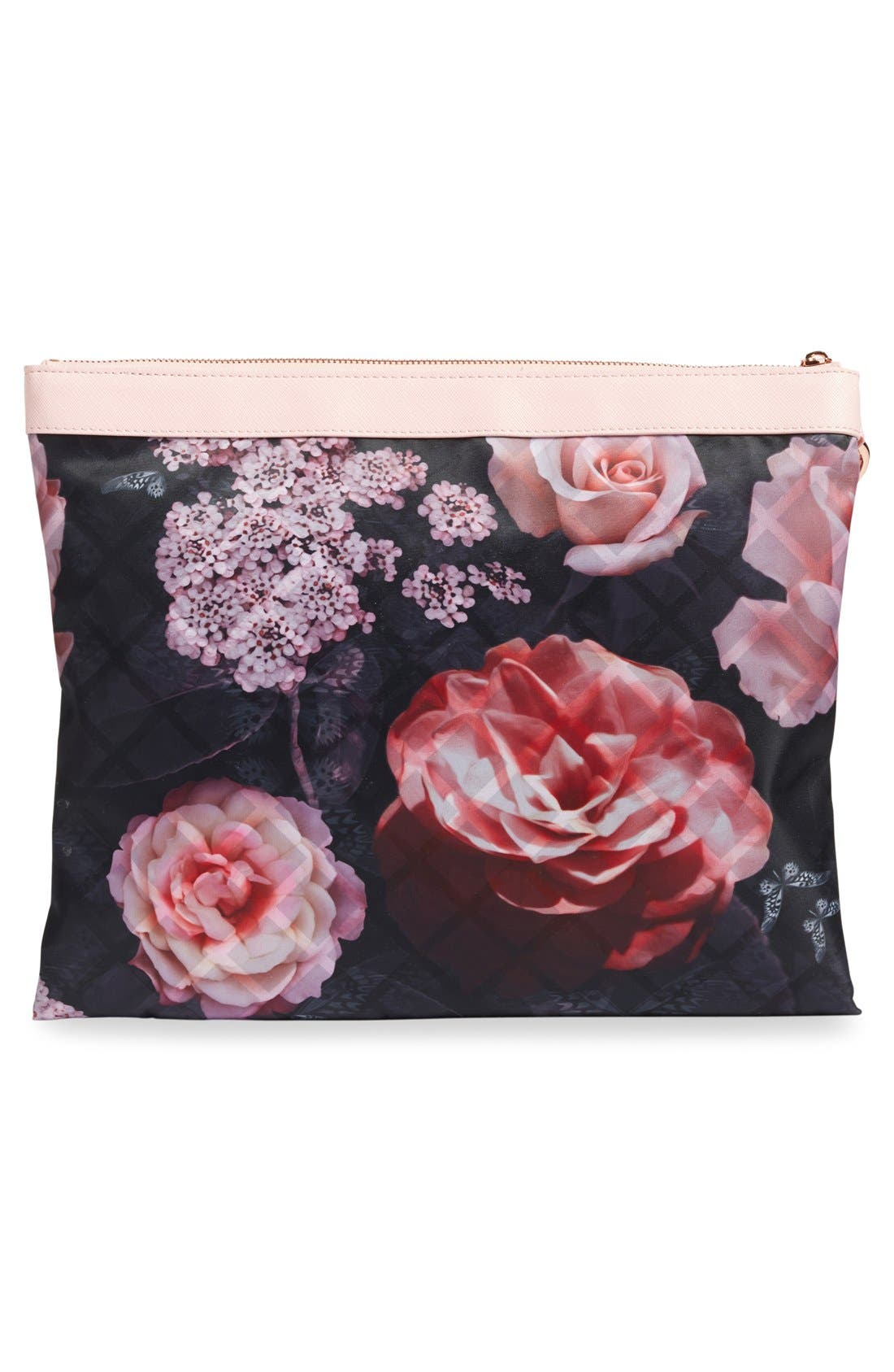 Alternate Image 2  - Ted Baker London Dynamic Butterfly Print 3-Pack Travel Pouch