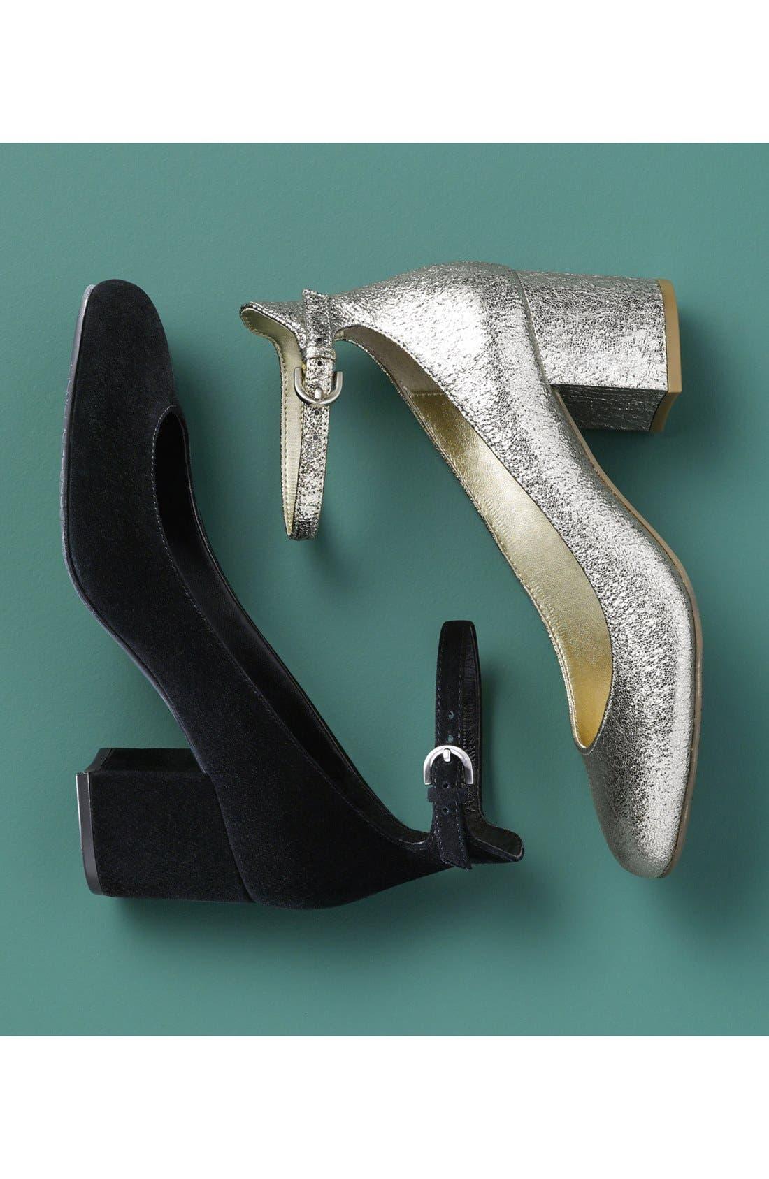 Alternate Image 6  - BP. Ankle Strap Block Heel Pump (Women)