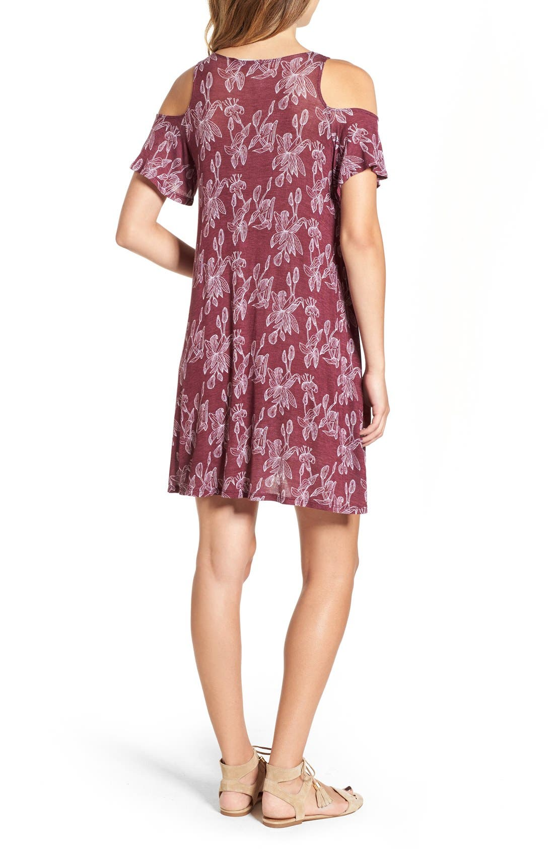 Alternate Image 2  - Michelle by Comune 'Walthamstow' Floral Print Shift Dress
