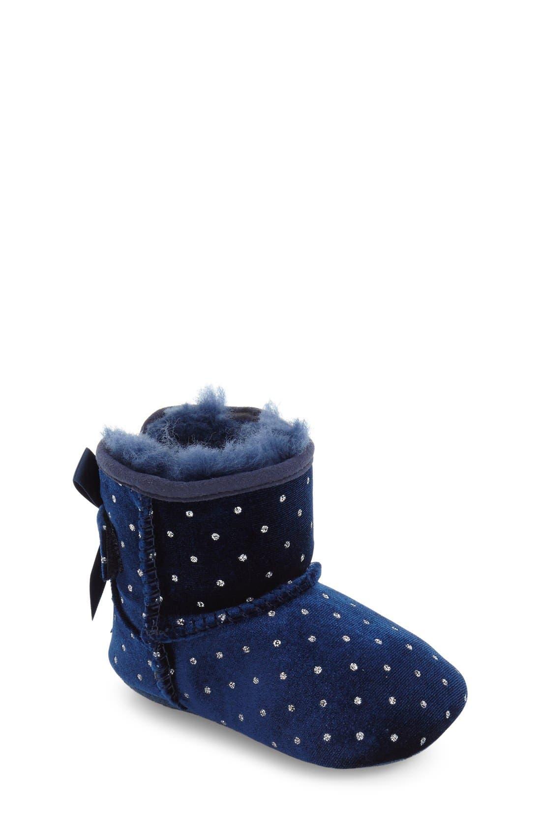 Alternate Image 1 Selected - UGG® Jesse Bow Boot (Baby & Walker)