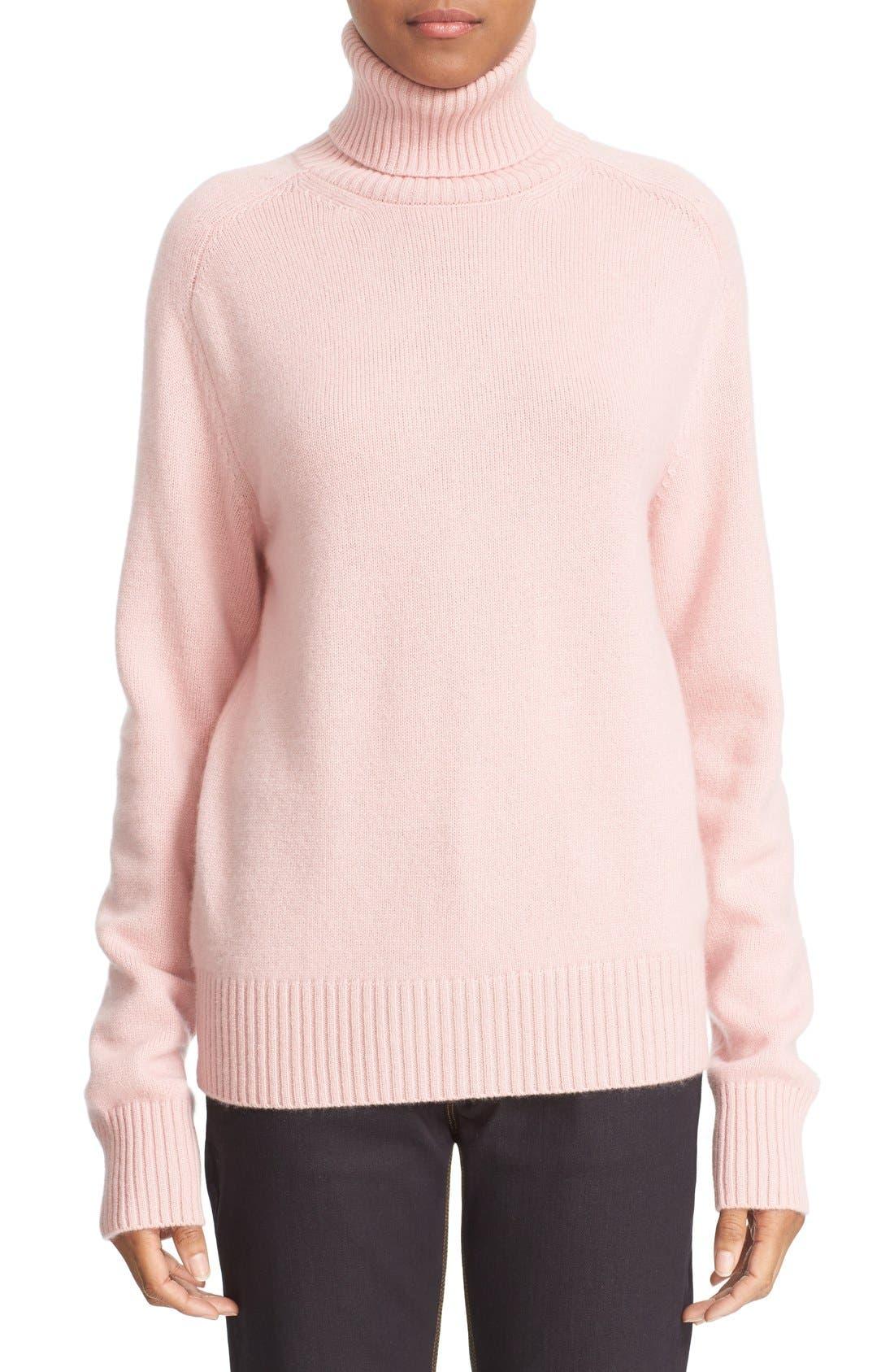 Alternate Image 1 Selected - Tomas Maier Cashmere Turtleneck Sweater