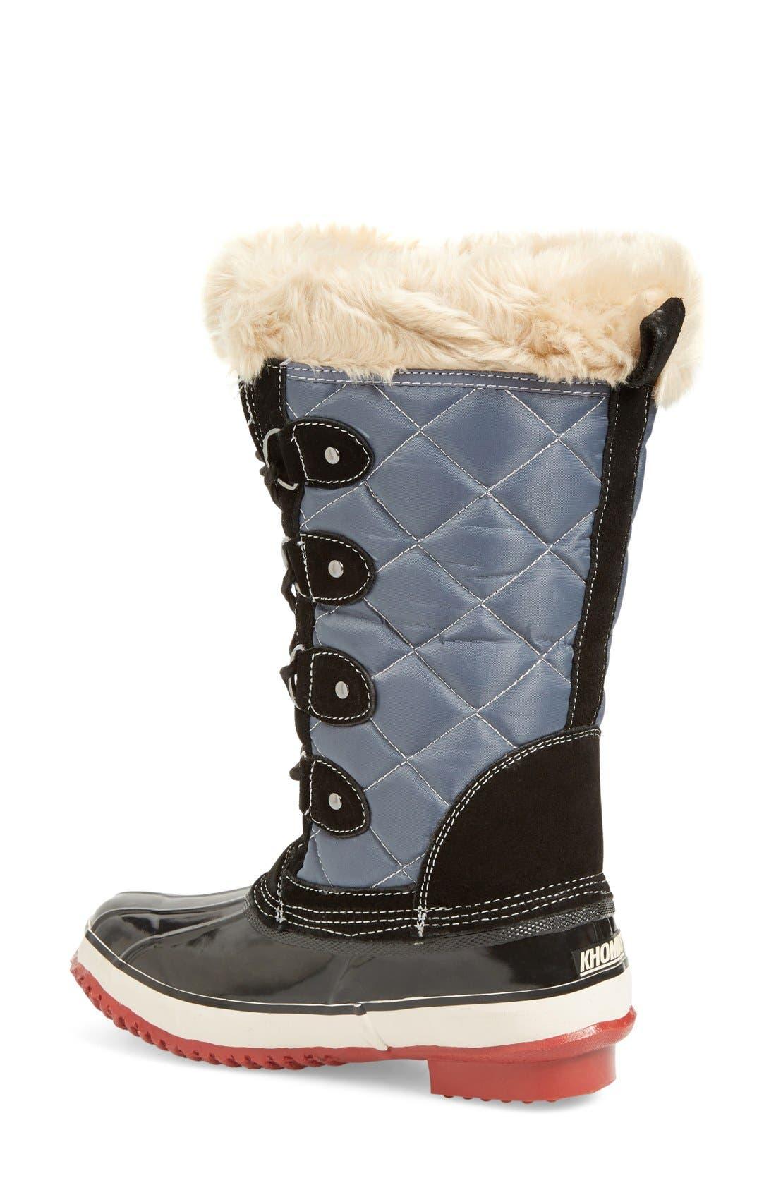 Alternate Image 2  - Khombu Andie Waterproof Boot (Women)