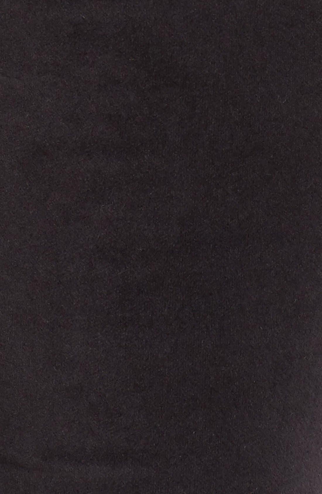 Alternate Image 5  - Madewell High Rise Velvet Skinny Jeans
