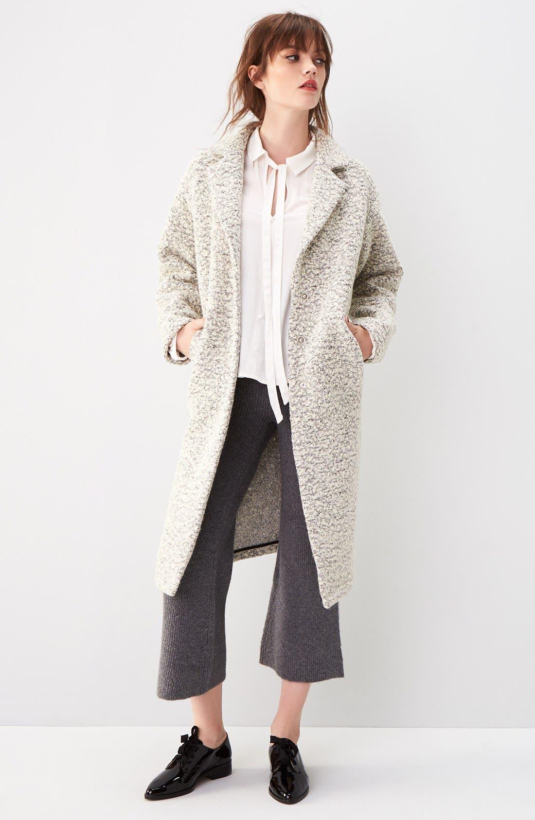 Alternate Image 2  - Glamorous Marled Dress Coat