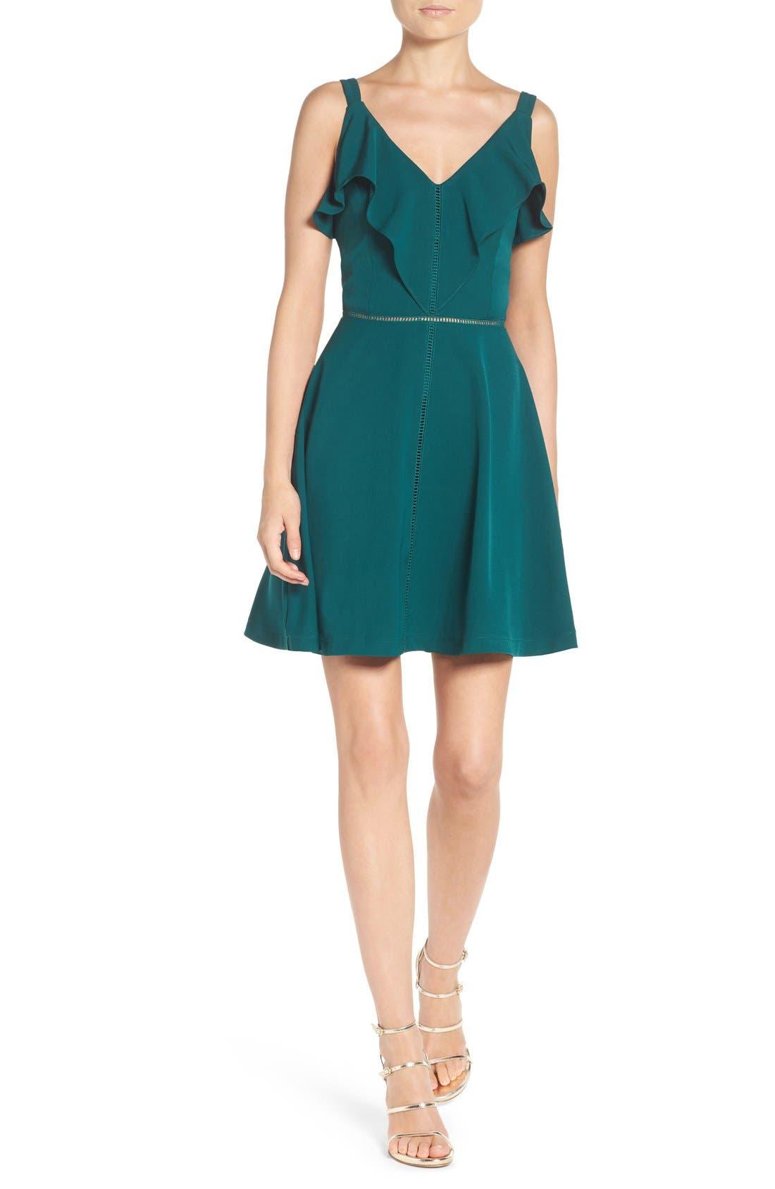 Alternate Image 4  - Adelyn Rae Fit & Flare Dress