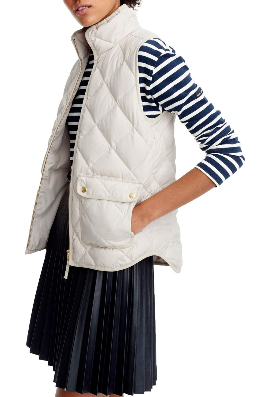Alternate Image 1 Selected - J.Crew Excursion Quilted Vest