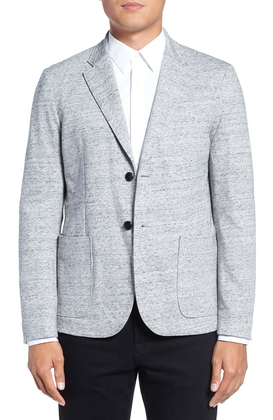 GOOD MAN BRAND Trim Fit Knit Blazer