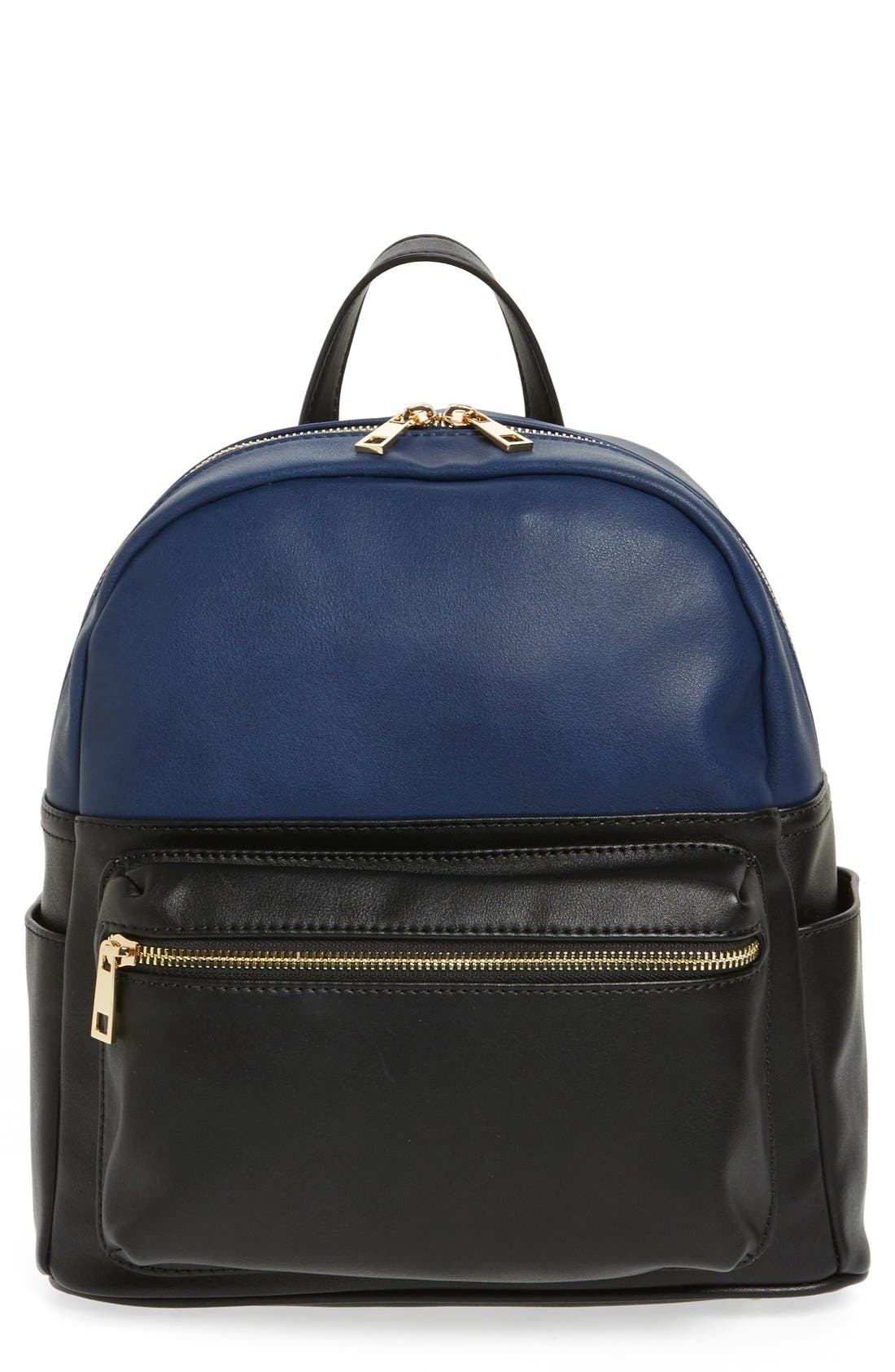 Main Image - BP. Colorblock Faux Leather Backpack