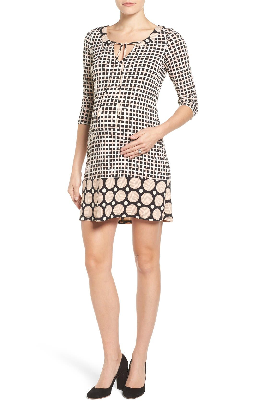 Leota Bailey Sheath Maternity Dress