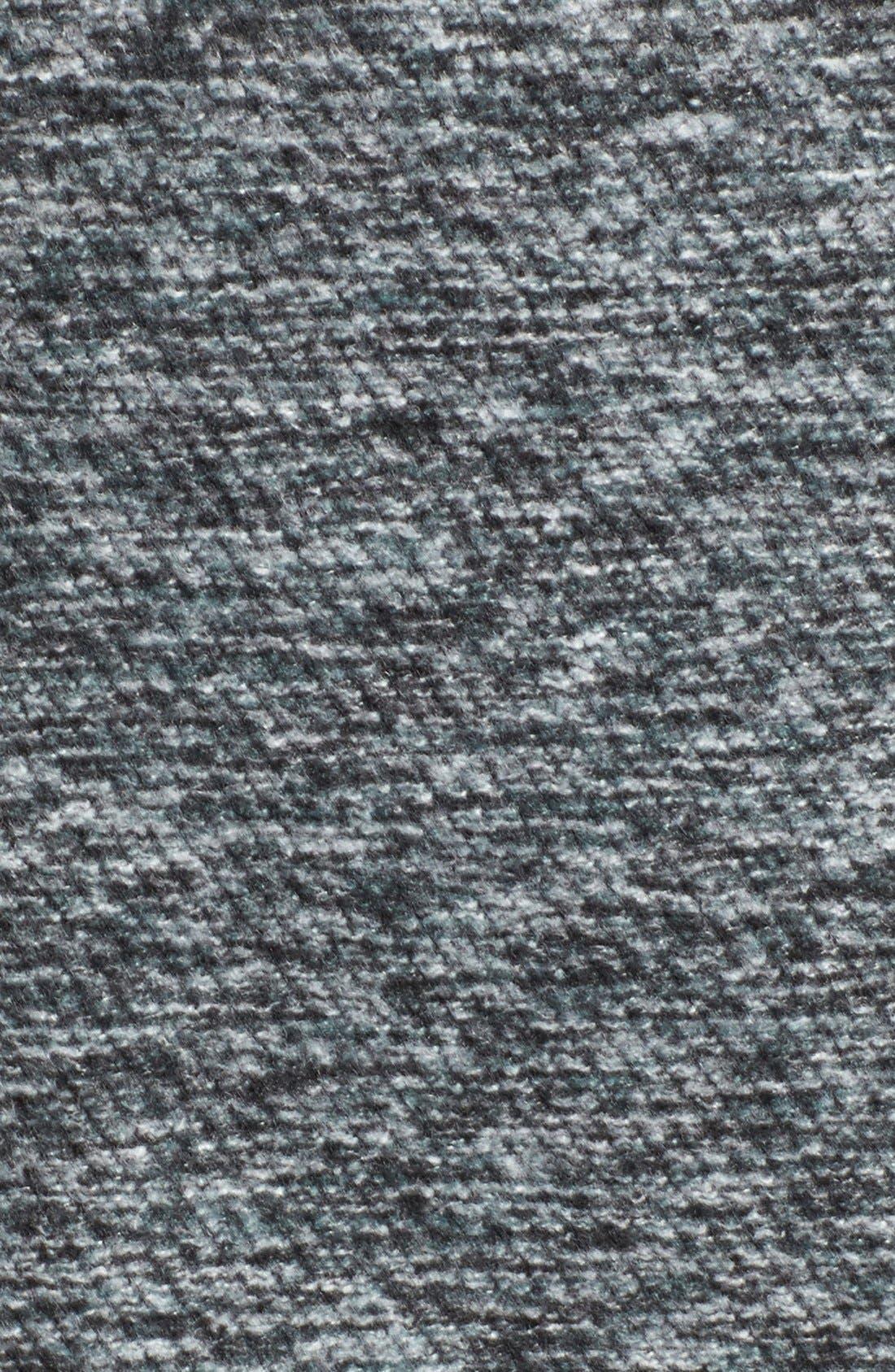 Alternate Image 5  - Steve Madden Asymmetrical Hooded Coat with Faux Fur Trim
