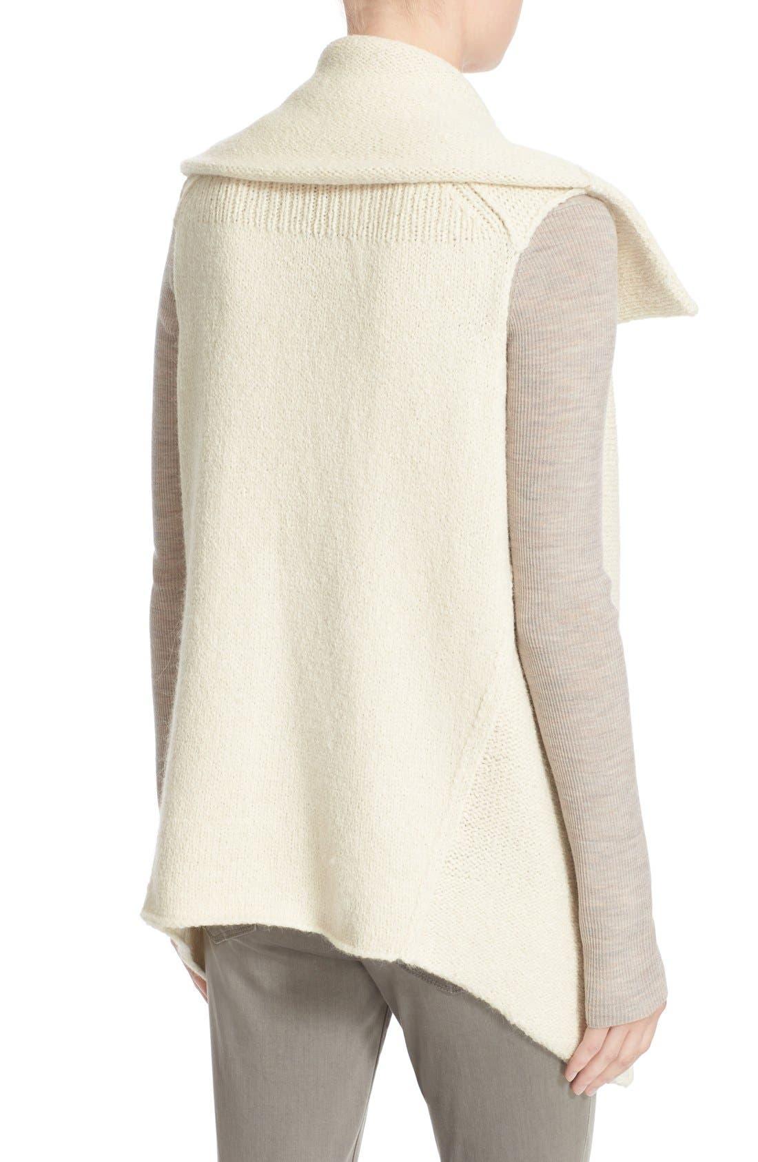 Alternate Image 2  - BrochuWalker 'Oak' Alpaca Blend SweaterVest