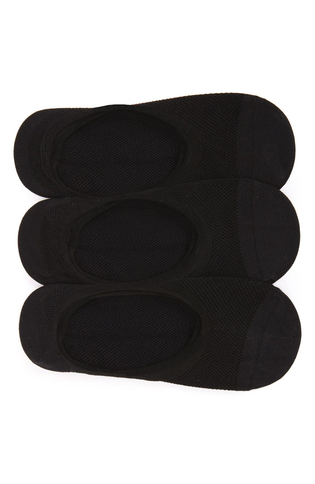 Main Image - Sof Sole All Sport Lite 3-Pack No-Show Socks