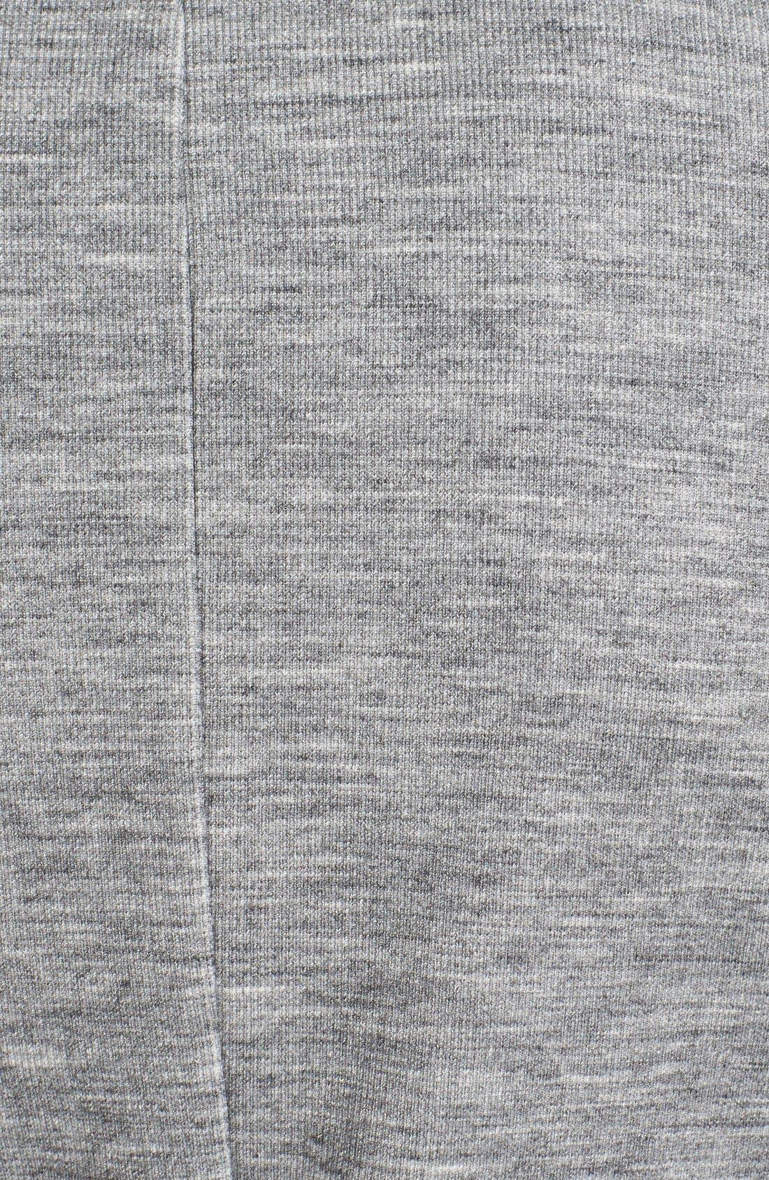 Alternate Image 5  - Halogen® Texture Knit Moto Jacket