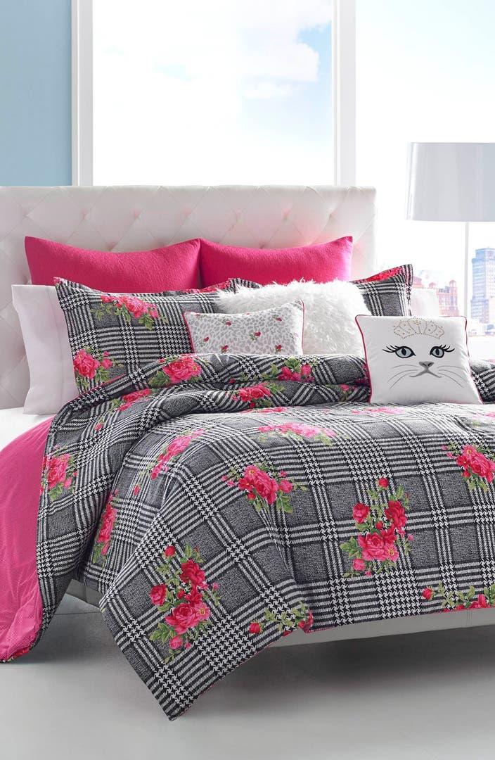 Betsey Johnson Bedding Polished Punk Comforter Sham Set