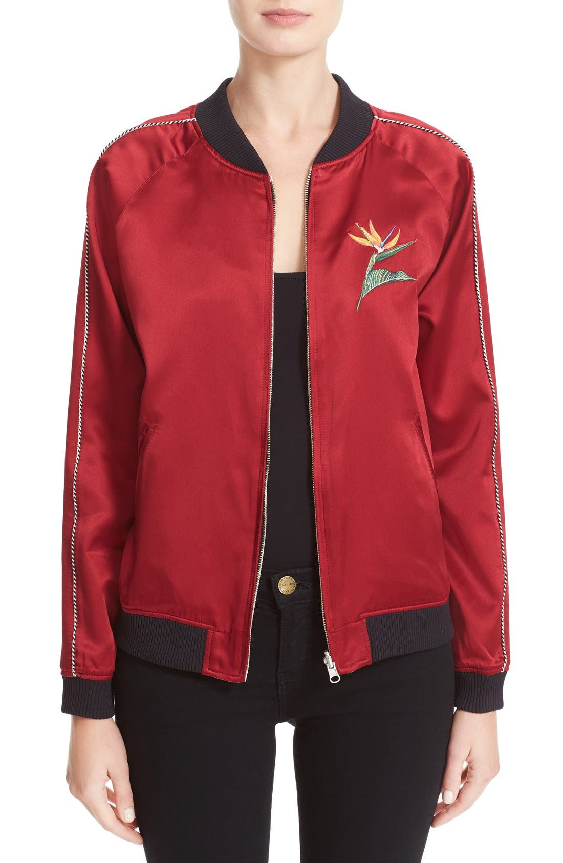 Main Image - Opening Ceremony L.A. Souvenir Reversible Bomber Jacket