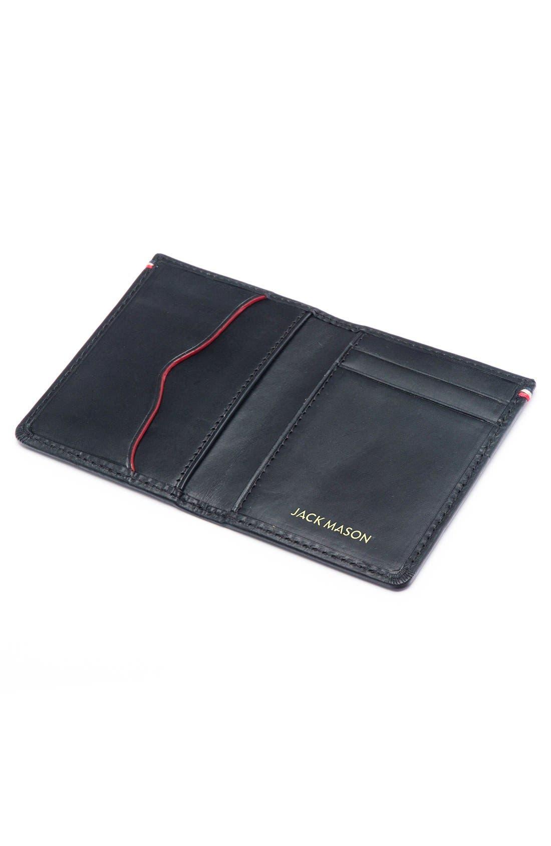 Alternate Image 3  - Jack Mason Core Leather Wallet