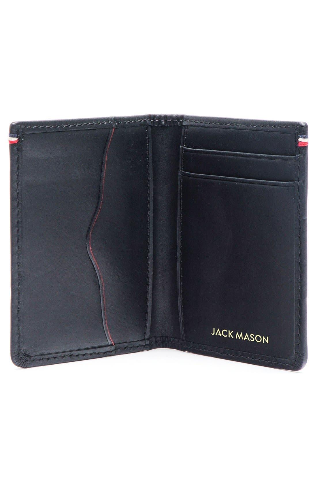 Alternate Image 2  - Jack Mason Core Leather Wallet