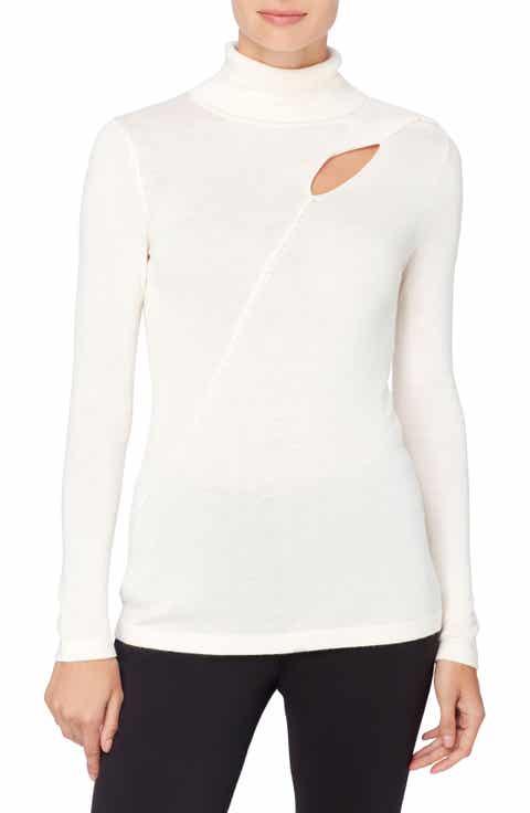 Catherine Catherine Malandrino Dessie Cutout Turtleneck Sweater