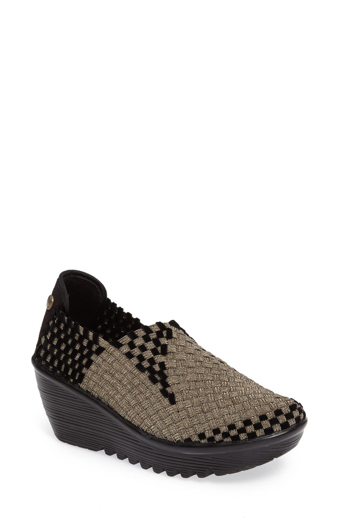 bernie mev. Gem Woven Platform Wedge (Women)