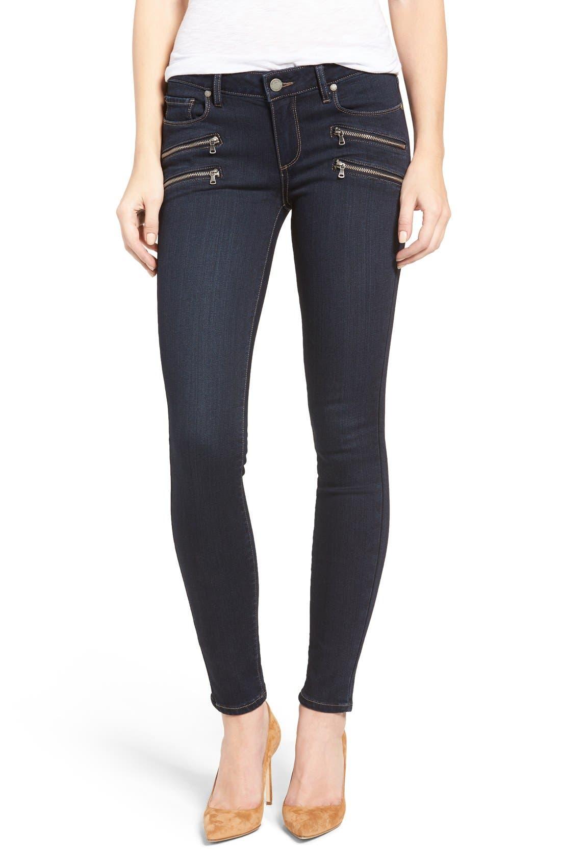 PAIGE Edgemont Ultra Skinny Jeans (Dayton) (Nordstrom Exclusive)