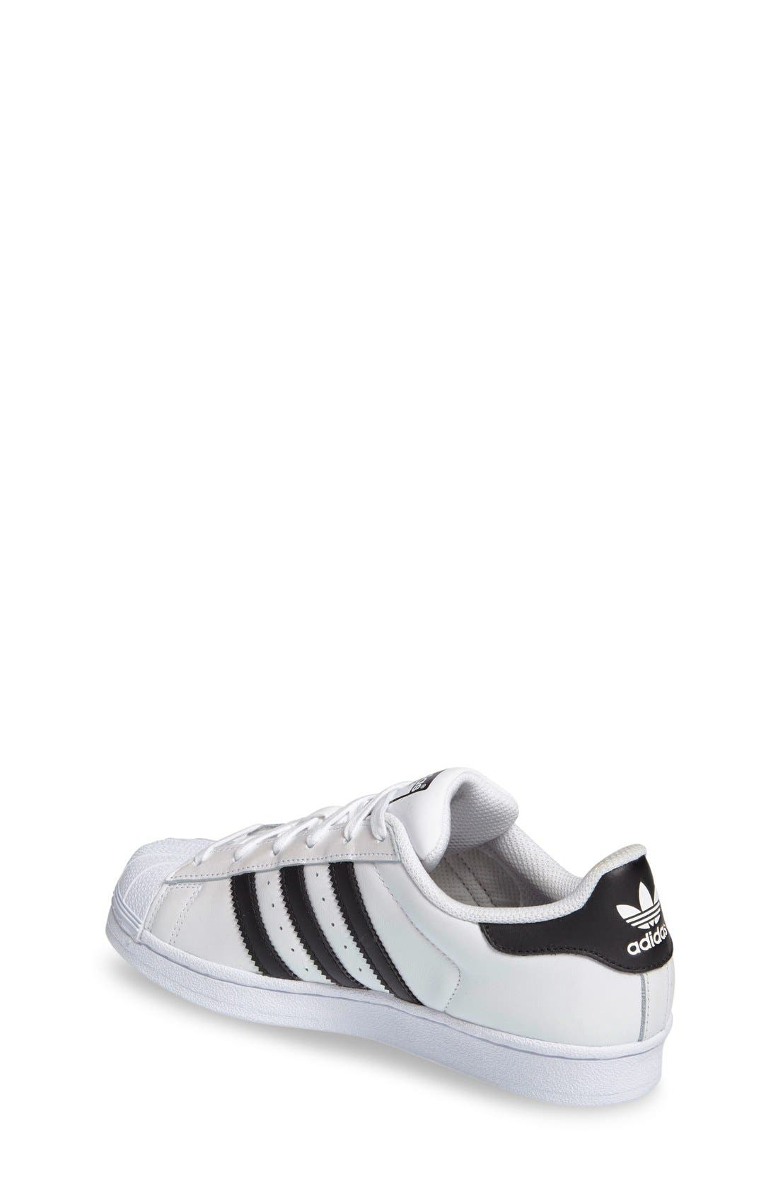 Alternate Image 2  - adidas Superstar Metallic Sneaker