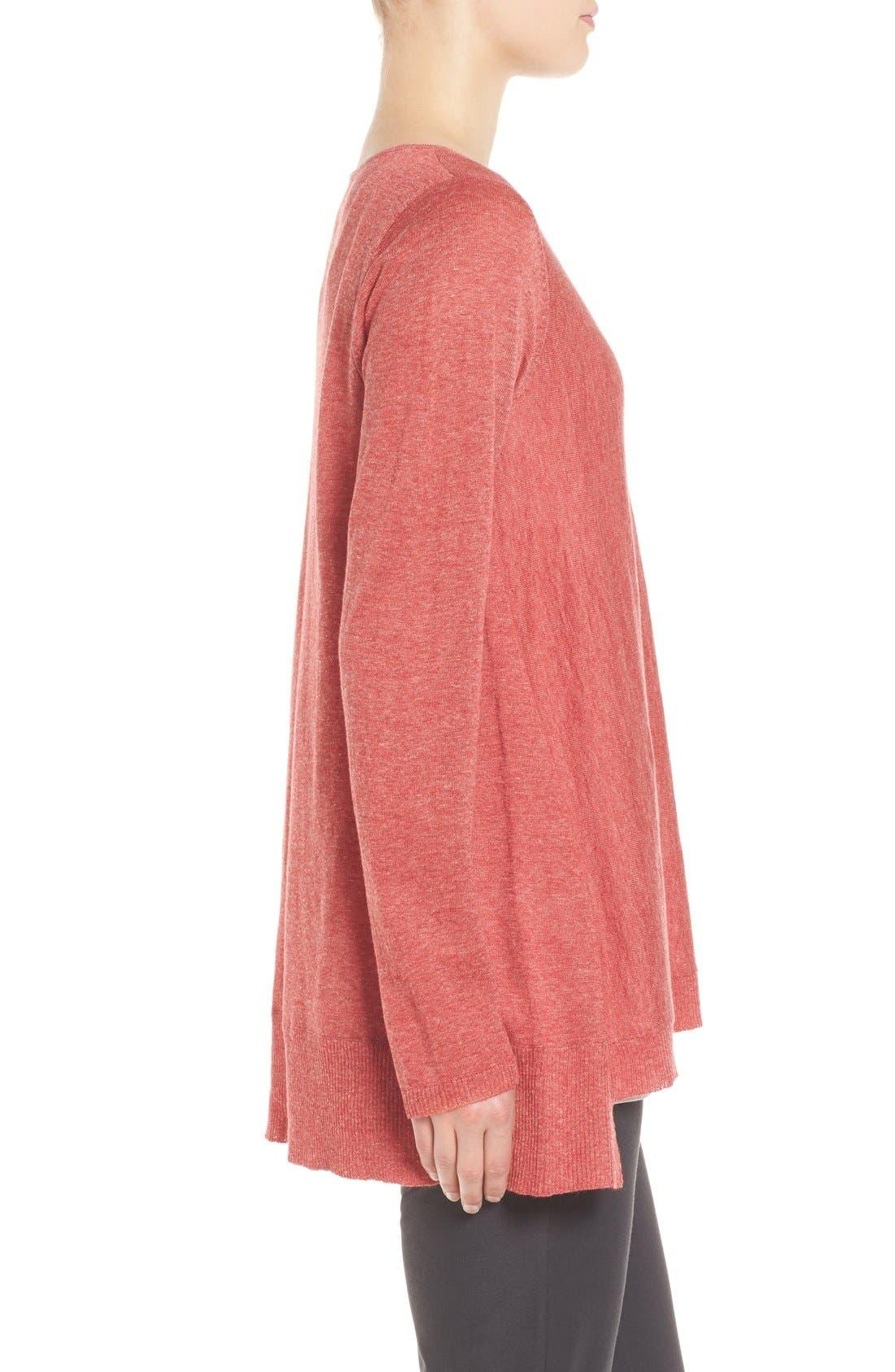 Alternate Image 3  - Eileen Fisher Scoop Neck Sweater (Regular & Petite)