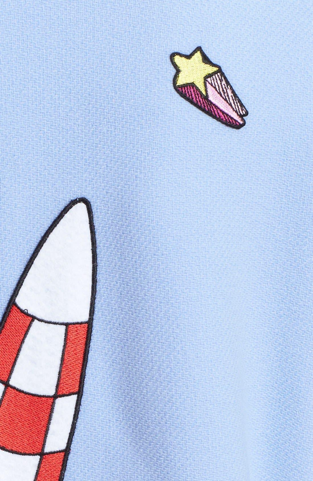 Alternate Image 3  - Mira Mikati 'Fly Away Sky Rocket' Coat