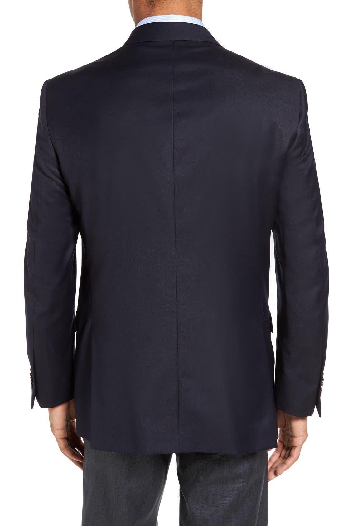 Alternate Image 2  - Peter Millar 'Flynn' Classic Fit Navy Wool Blazer