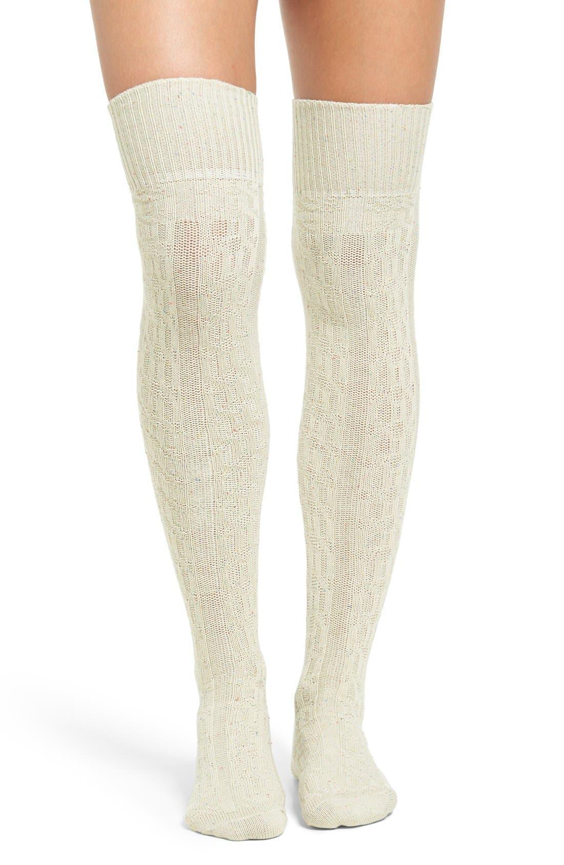 Alternate Image 1 Selected - UGG® Over the Knee Socks
